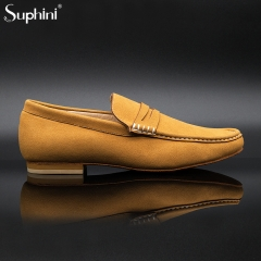 Suphini Soft Microfiber Boy Men Loafer Salsa Bachata Latin Shoes